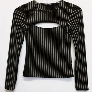 ZARA W&B COLLECTION LONG SLEEVE SHIRT SIZE SMALL